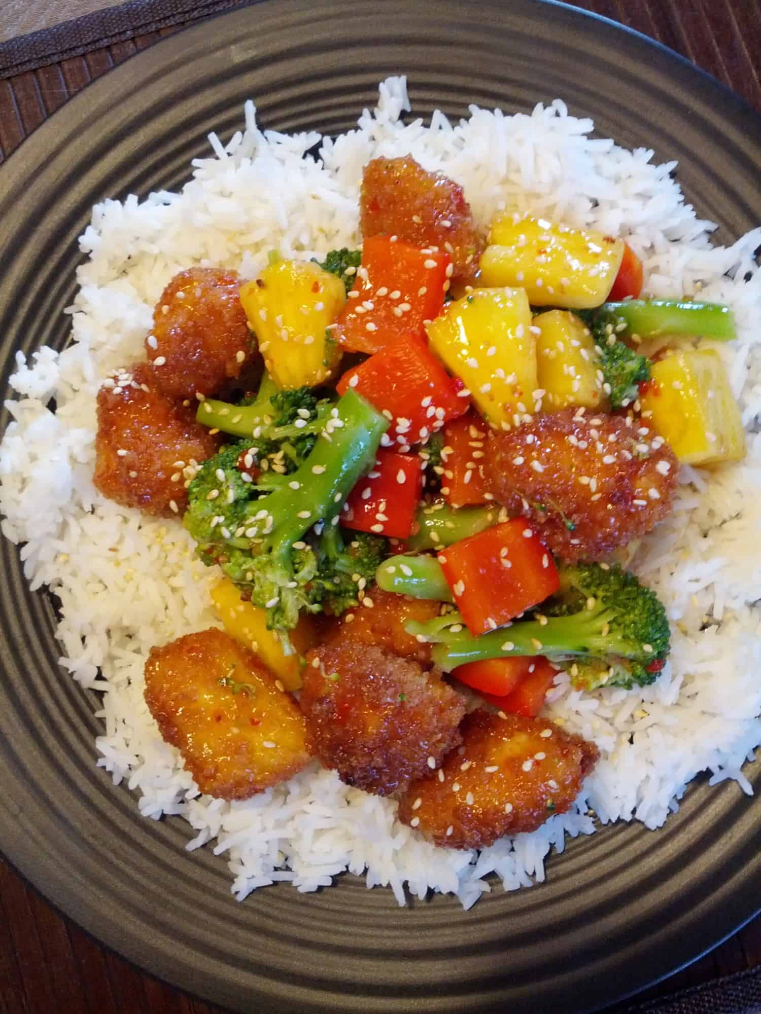 Sweet And Sour Tofu Bites