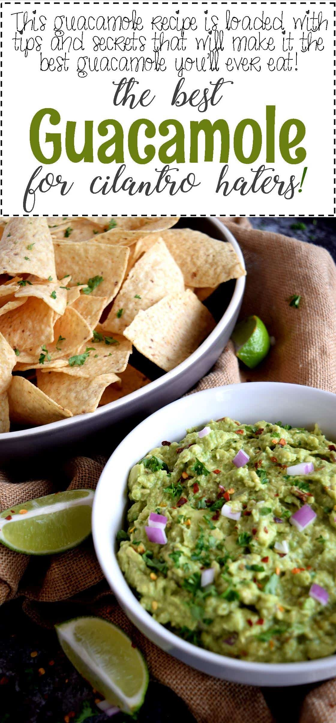 Guacamole for cilantro haters lord byrons kitchen yes this recipe is for all of us foodies who absolutely despise the use of cilantro in our food but get this this guacamole has cilantro in it forumfinder Images