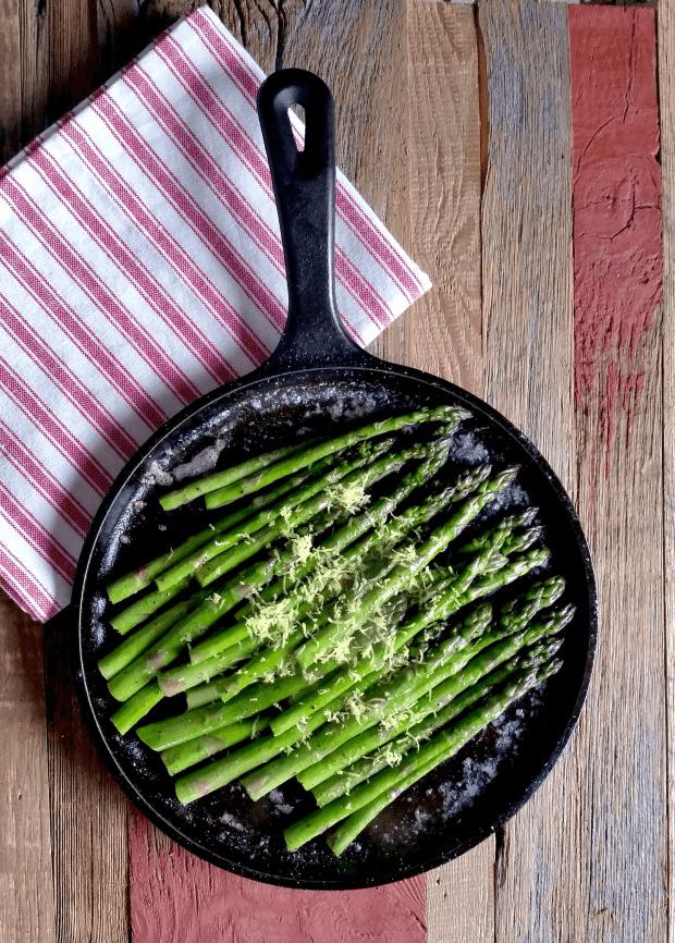 Sautéed Buttered Asparagus