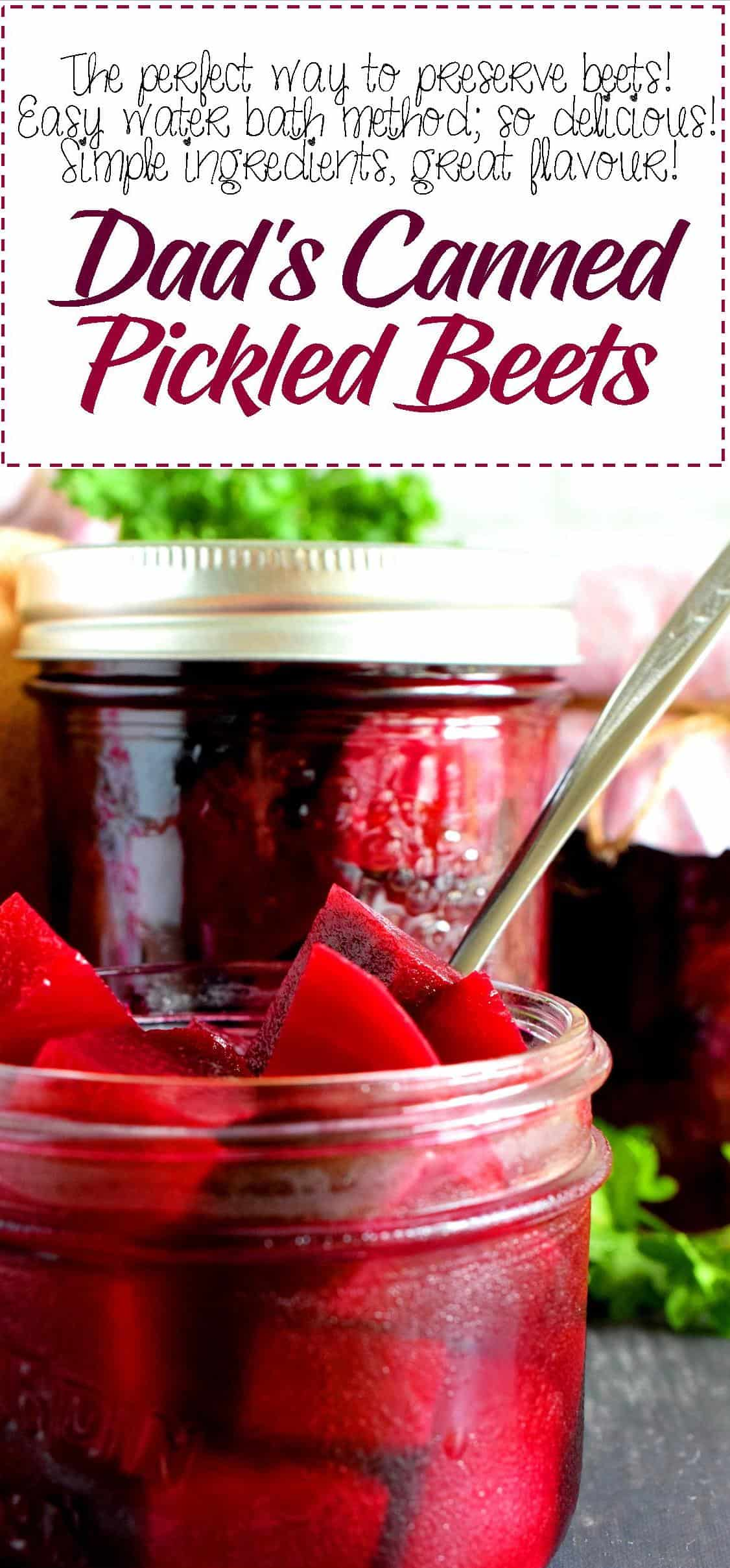Dad S Canned Pickled Beets Lord Byron S Kitchen