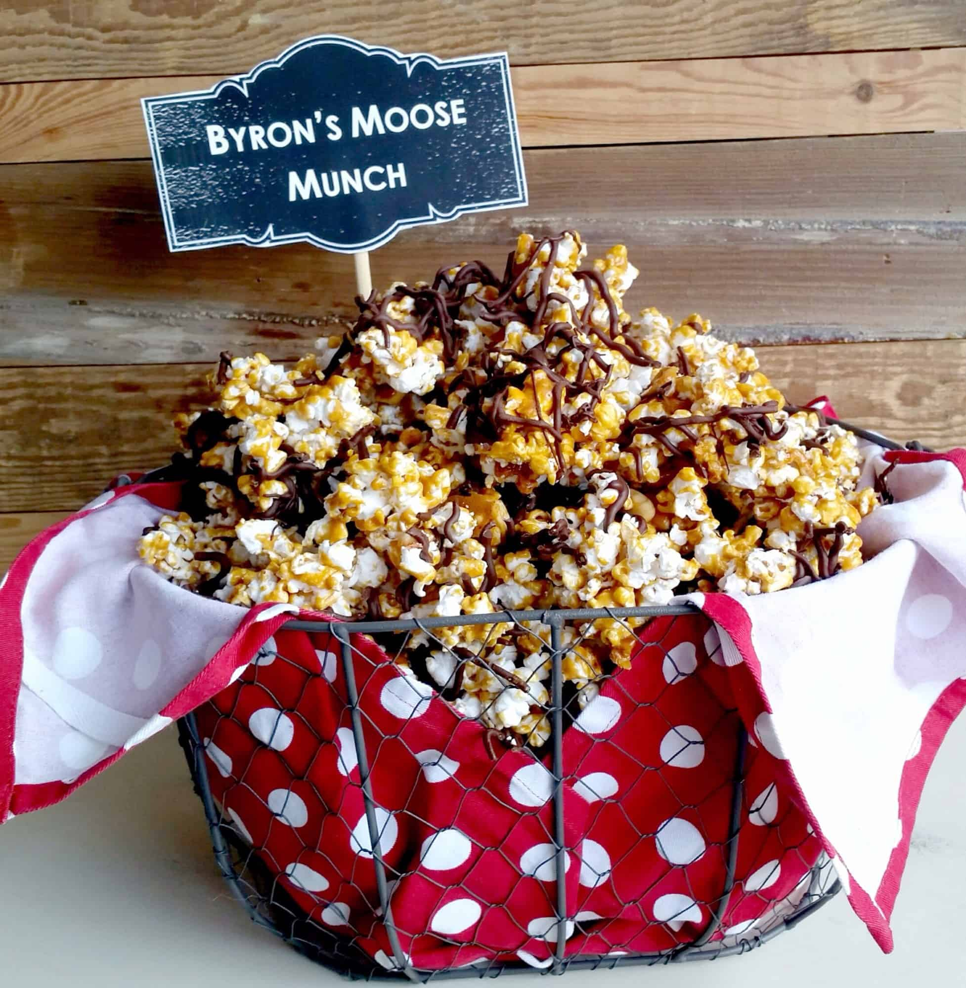 Byron's Moose Munch & Candy Bar