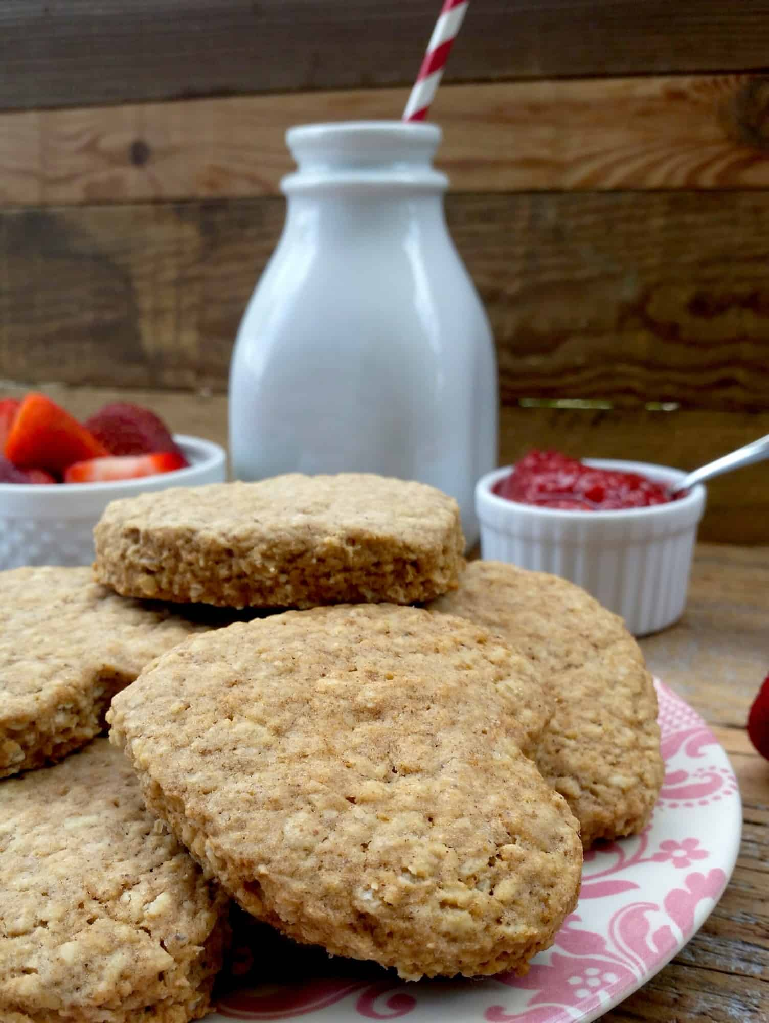 Cinnamon Butter Oatmeal Cookies