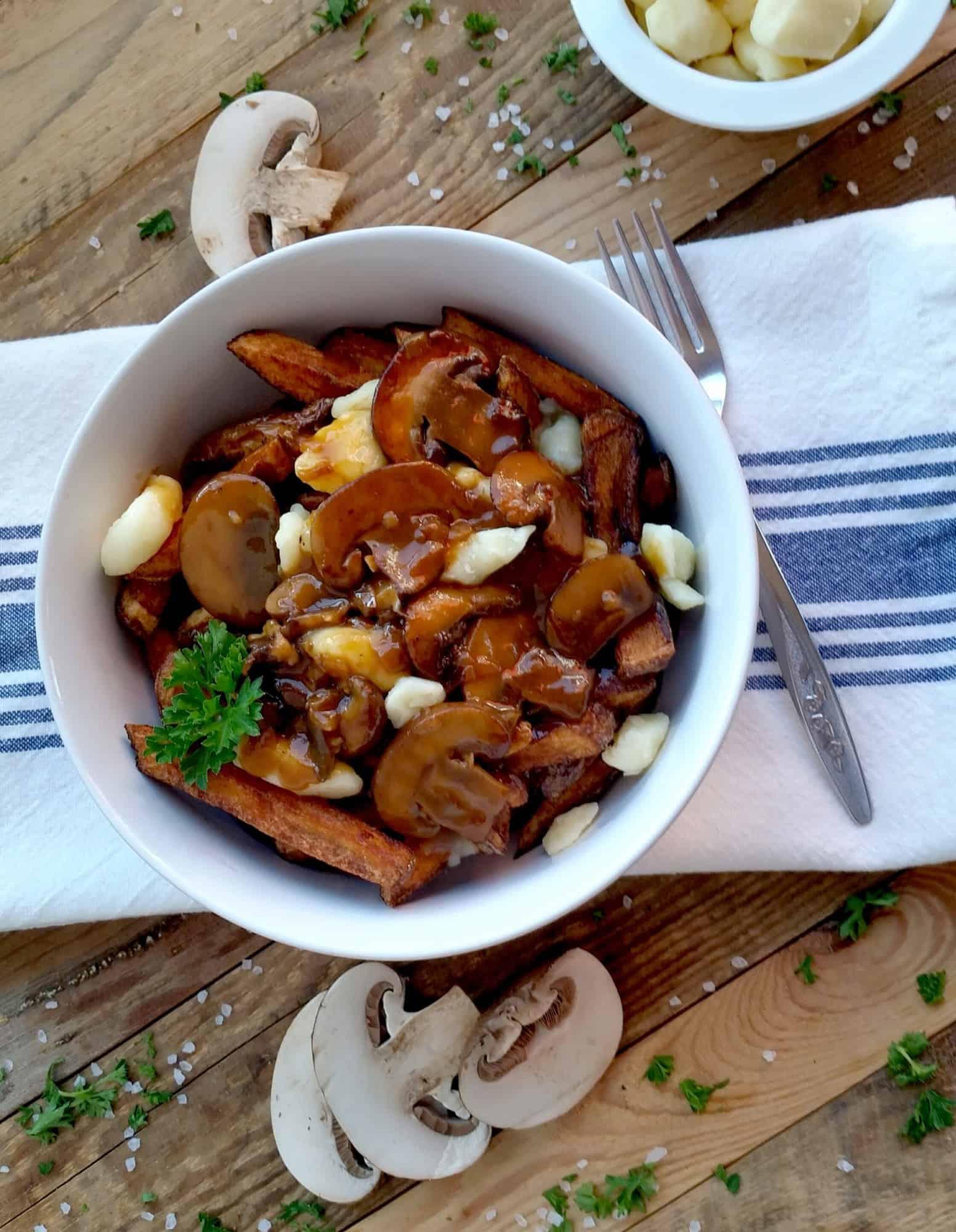 Poutine With Mushroom Gravy