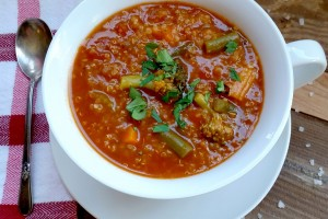 Thick & Hearty Quinoa Vegetable Soup
