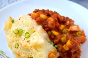 Shepherd's Vegetarian Skillet Pie