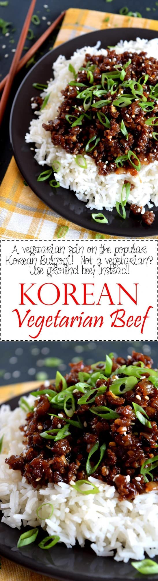 Korean vegetarian beef lord byrons kitchen like what you see share it with your friends forumfinder Gallery