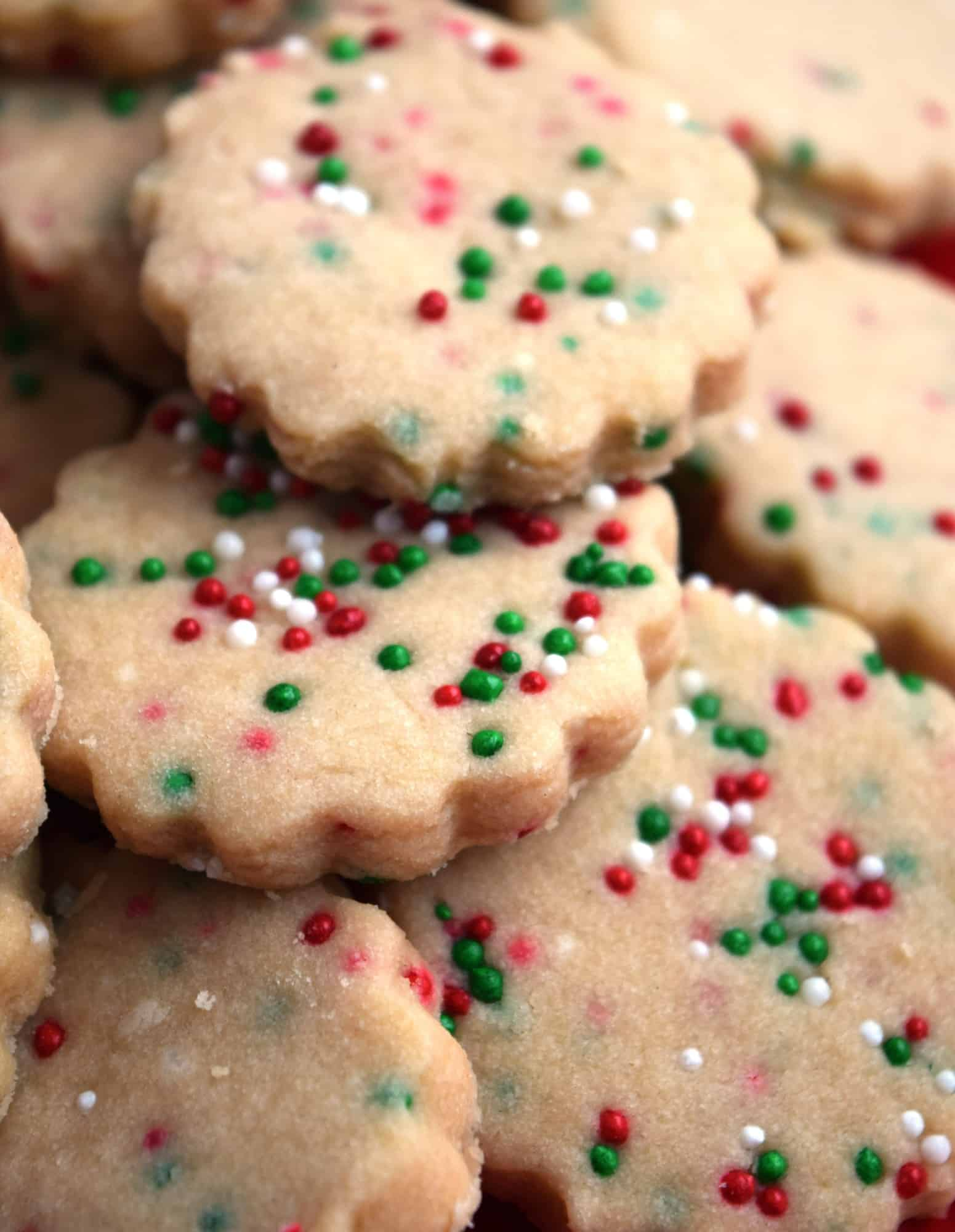 Three Ingredient Shortbread Cookie Dough
