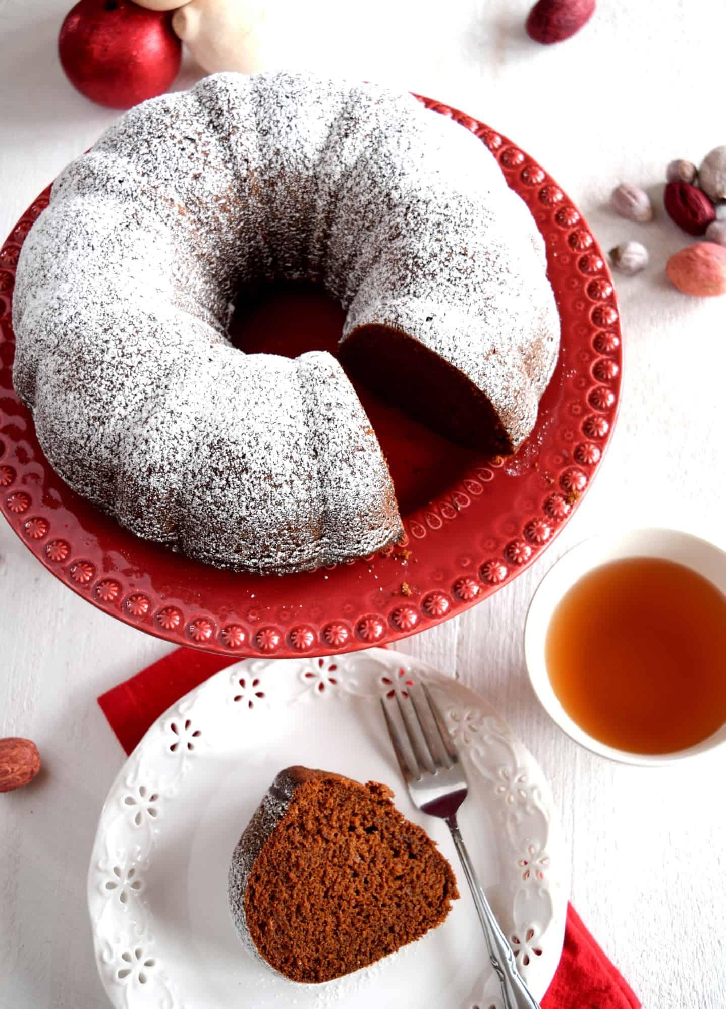 Gingerbread Bundt Cake
