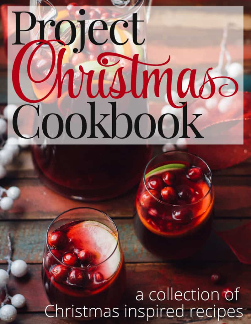 PROJECT Christmas Cookbook