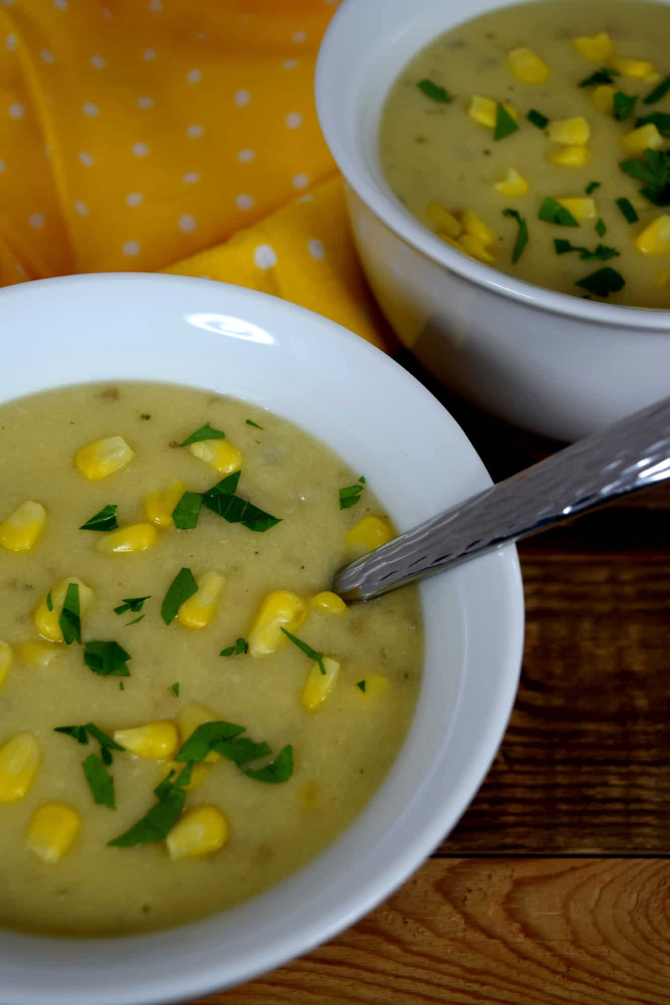 Corn And Potato Cheese-Loaded Chowder