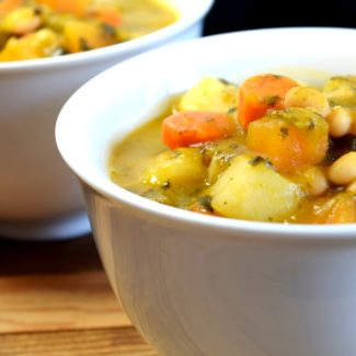 Root Vegetable Vegetarian Cassoulet