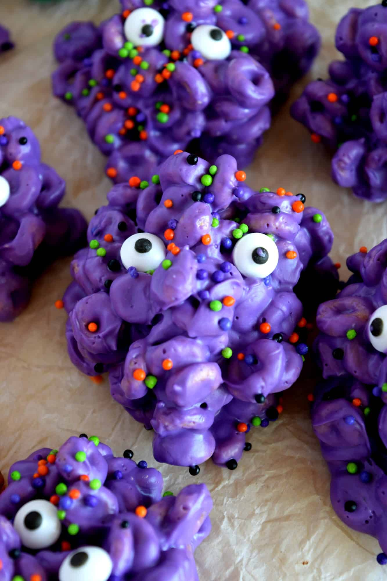 Monster Cereal Treats