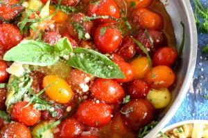 Barefoot Contessa's Herb And Garlic Tomatoes