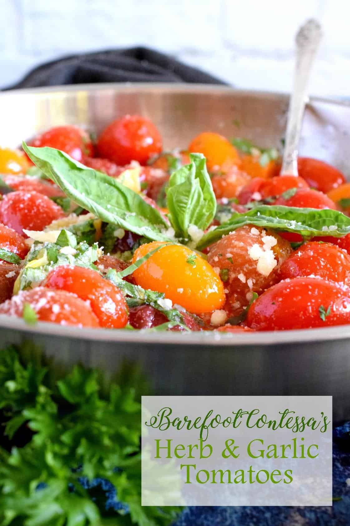 Barefoot Contessa S Herb And Garlic Tomatoes Lord Byron S Kitchen