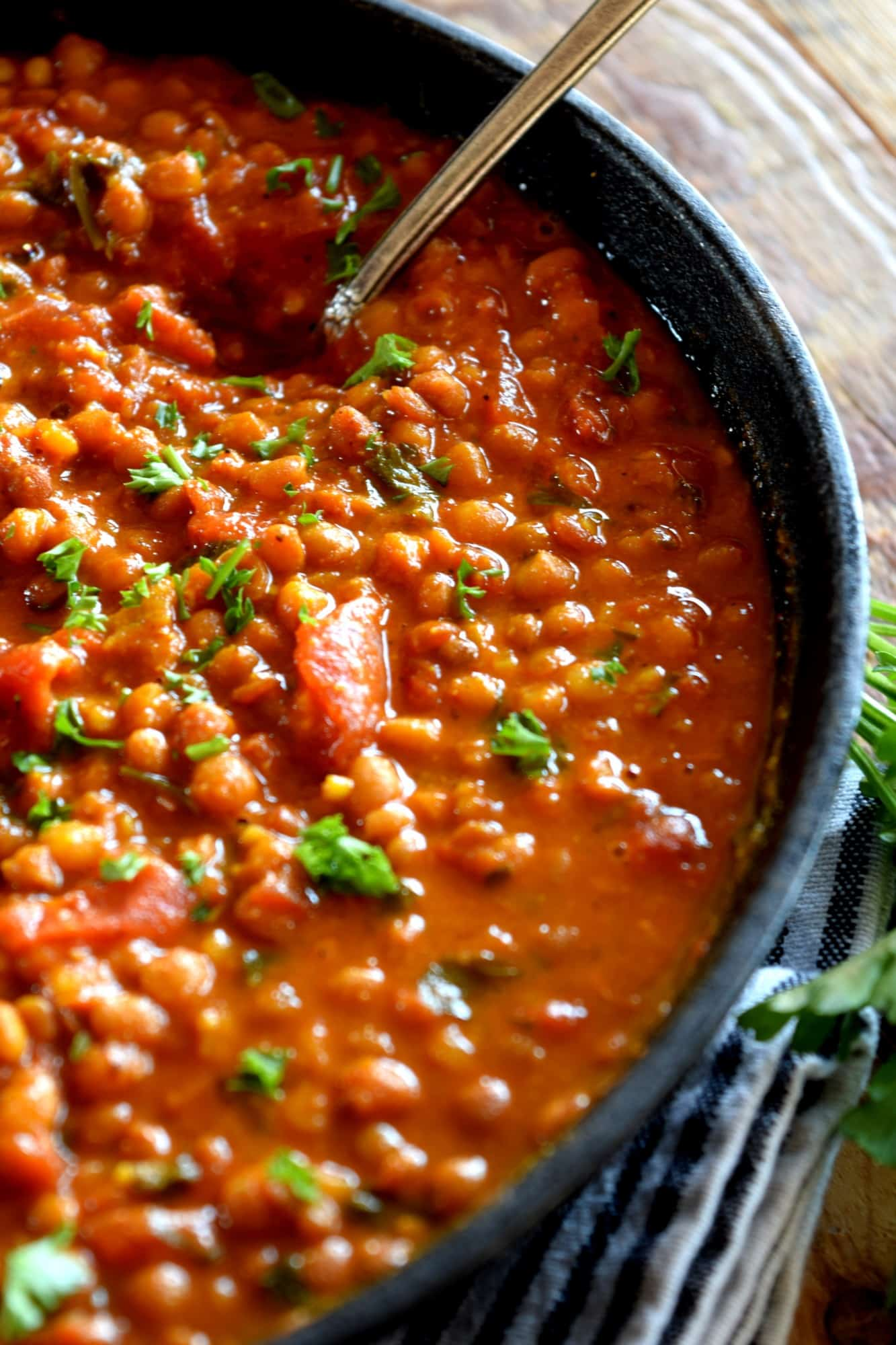 Curried Coconut Lentils