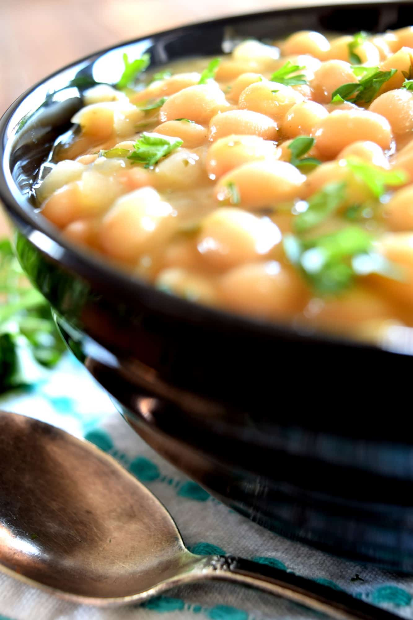 Braised White Bean Stew
