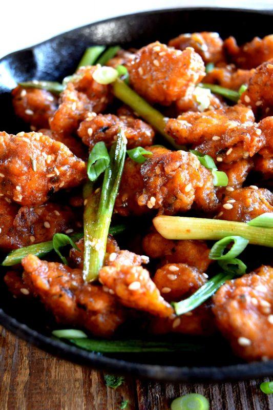 Szechuan Popcorn Chicken Lord Byron S Kitchen
