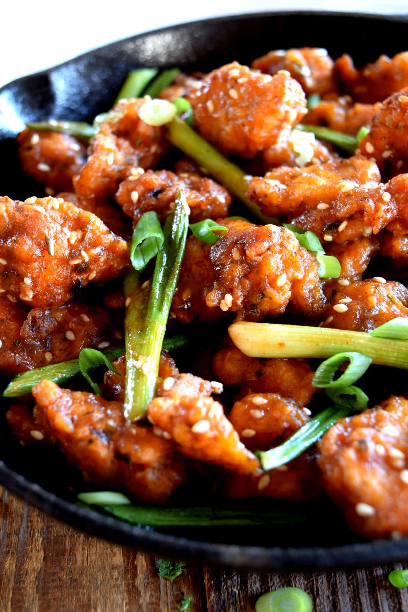 Szechuan Popcorn Chicken
