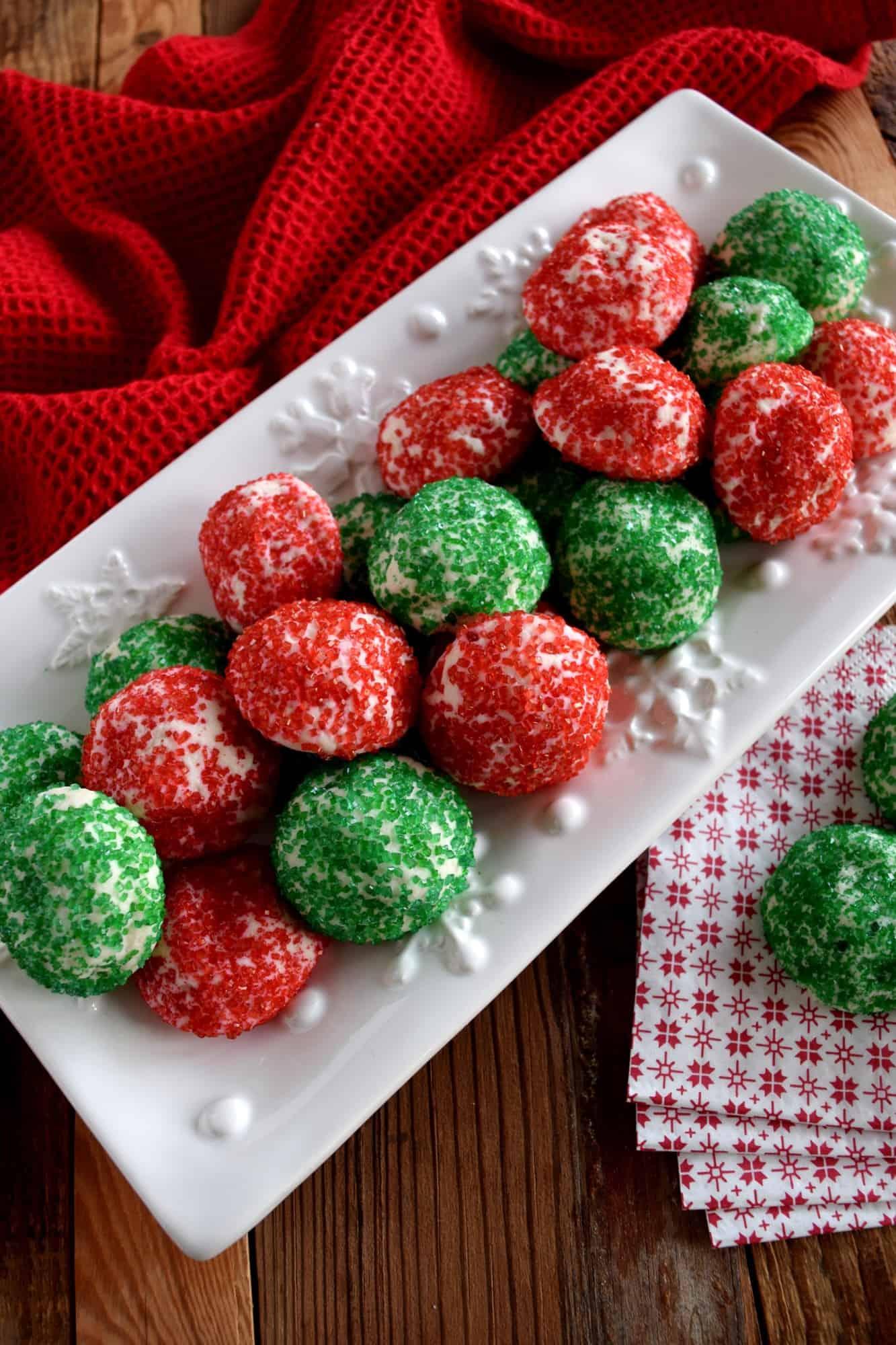 Holiday Meltaway Cookies