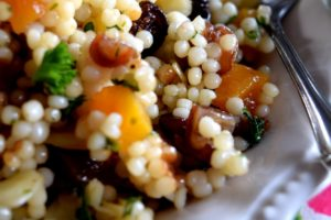 Israeli Couscous Dried Fruit Salad