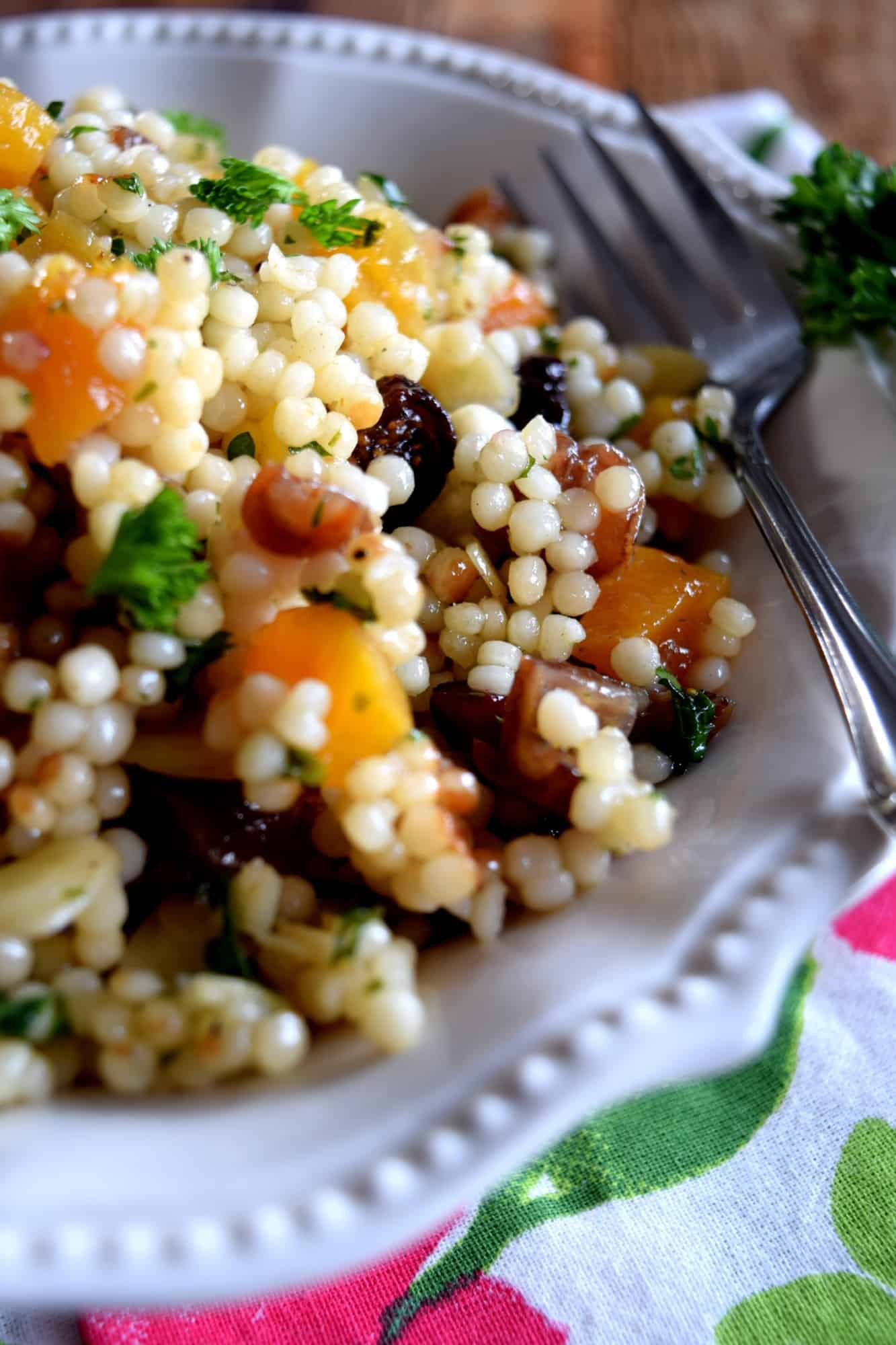 Israeli Couscous Dried Fruit Salad Lord Byron S Kitchen