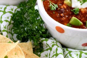 Vegetarian Quinoa Chili