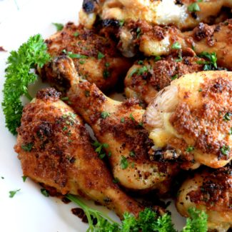 Sun Dried Tomato Artichoke Parmesan Chicken Drumsticks