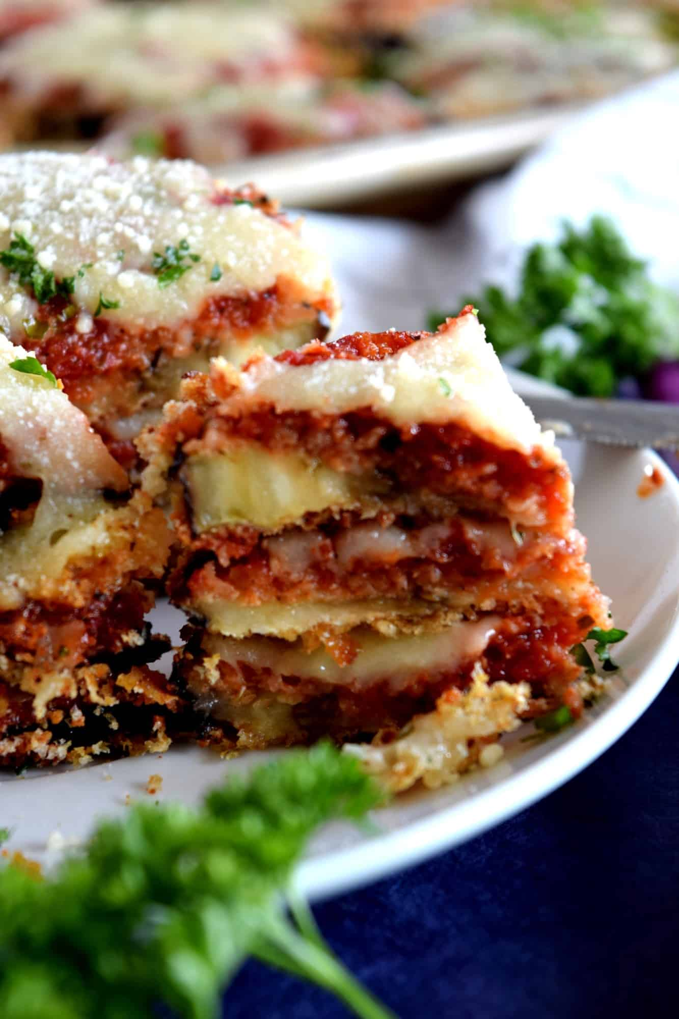 Sheet pan eggplant parmesan lord byrons kitchen if this recipe is your first exposure to eggplant parmesan let me be the first to tell you that you are in for a very tasty treat forumfinder Gallery