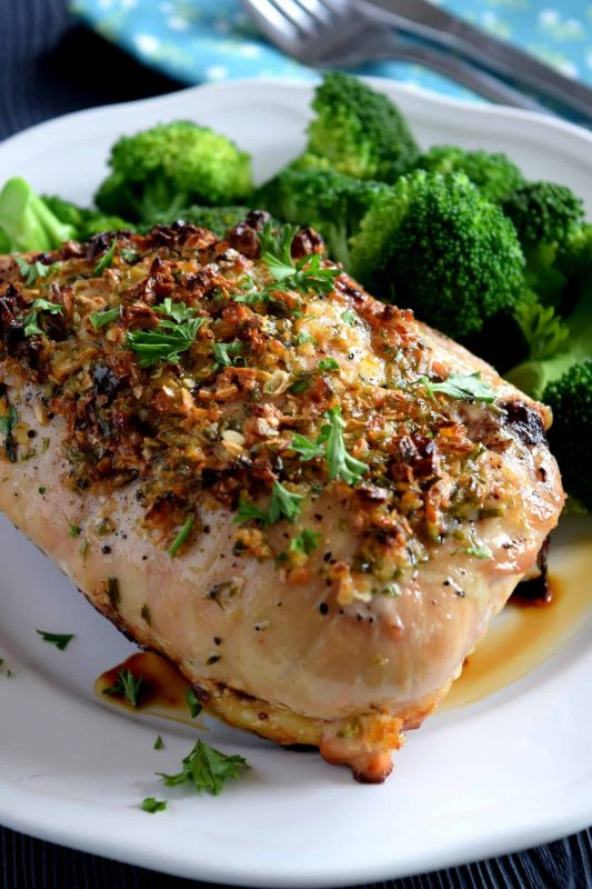 Easy Oven Baked Honey Garlic Chicken - Lord Byron's Kitchen