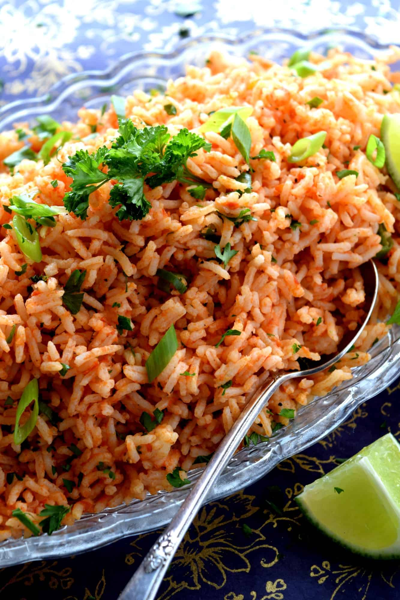 Easy Leftover Tomato Lime Fried Rice