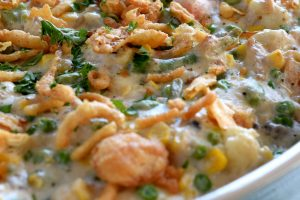 Make Ahead Creamy Vegetable Casserole