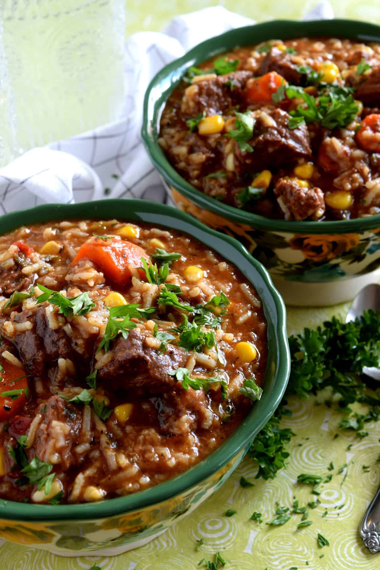 Braised Beef Stew With Rice