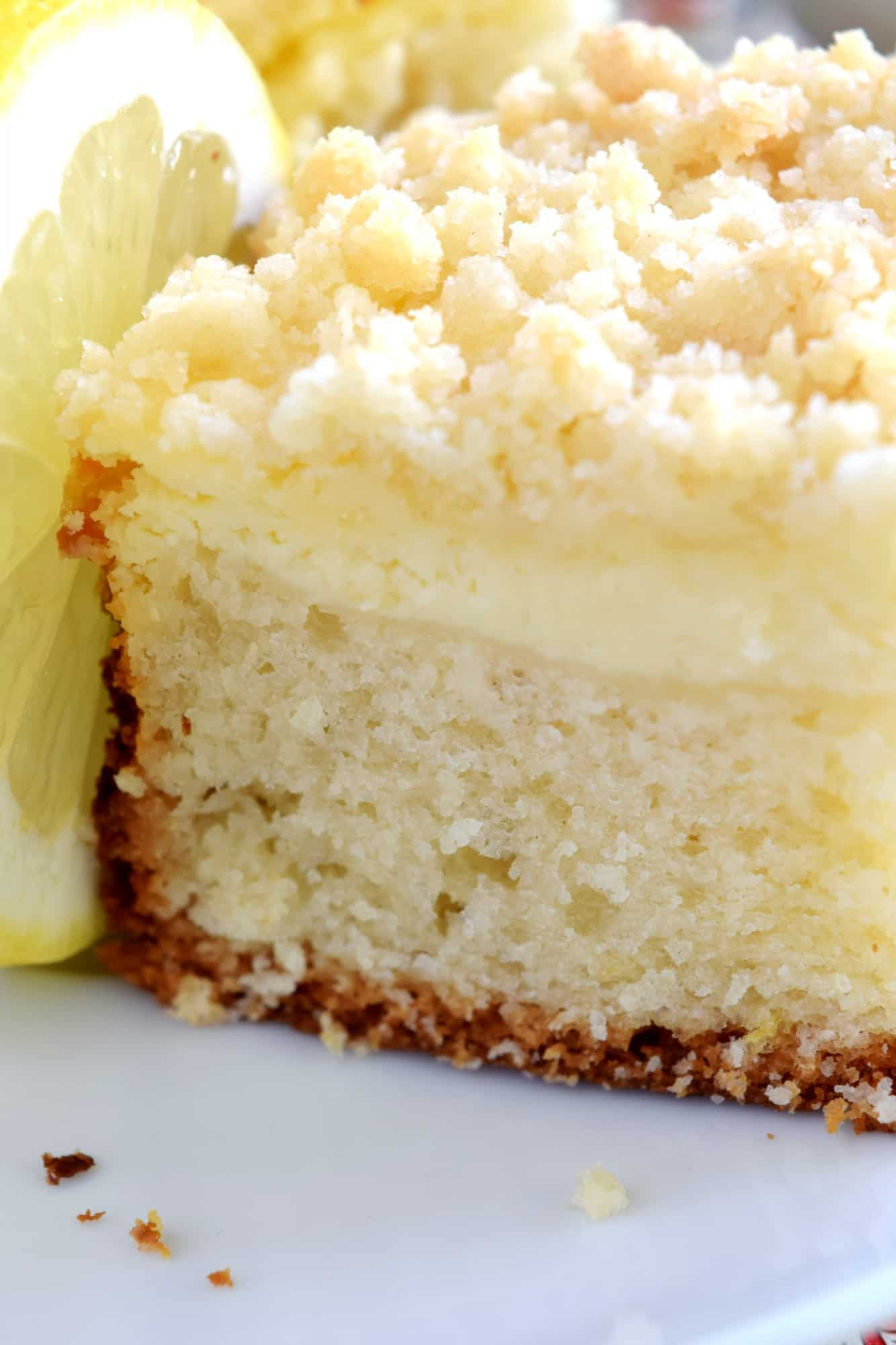 Lemon Cake Crumb Topping