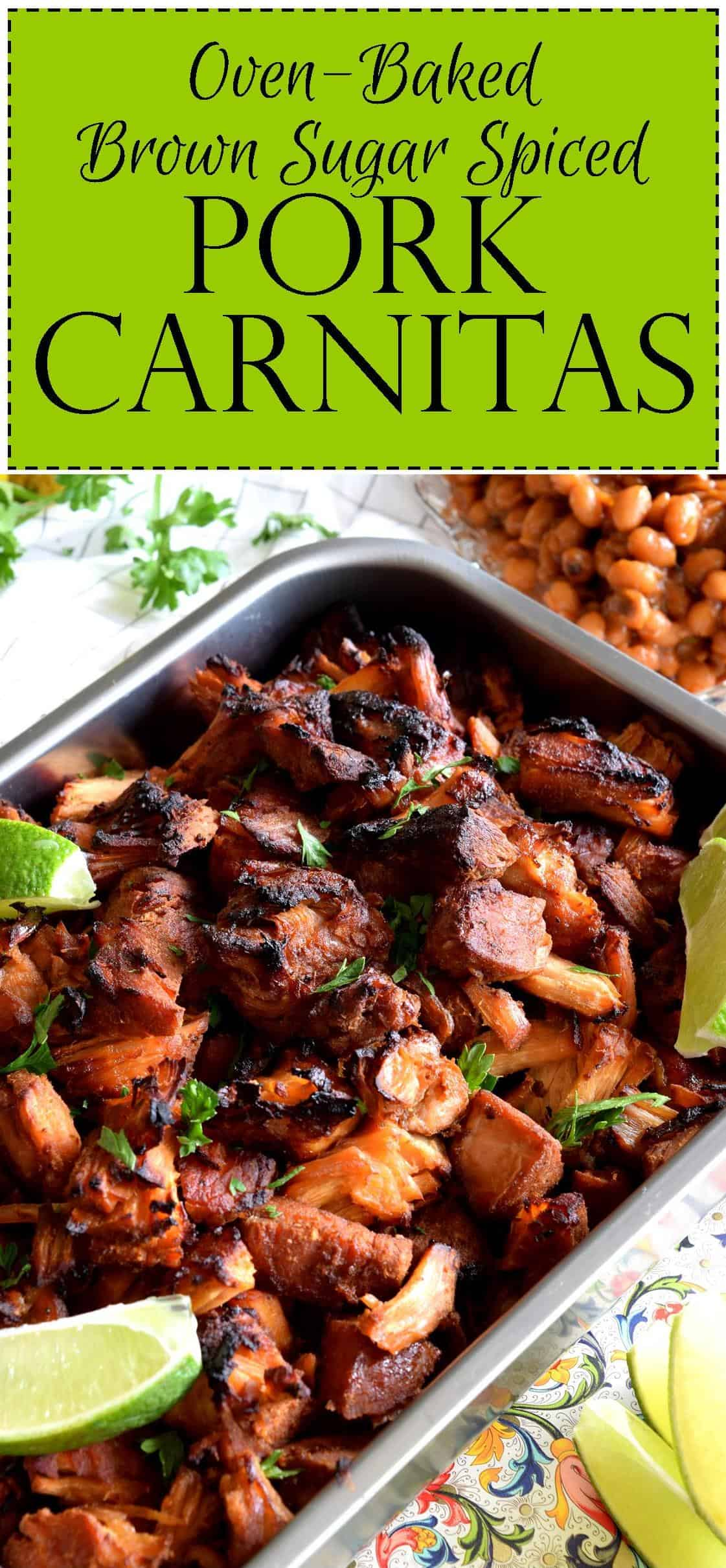 Oven Baked Brown Sugar Spiced Pork Carnitas Lord Byron S
