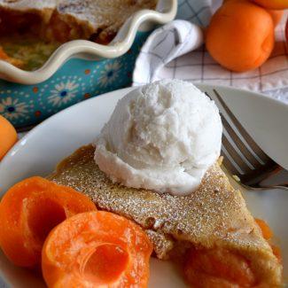 Fresh Apricot Clafoutis