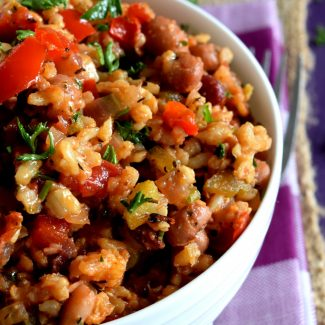 Healthy And Hearty Vegetarian Jambalaya