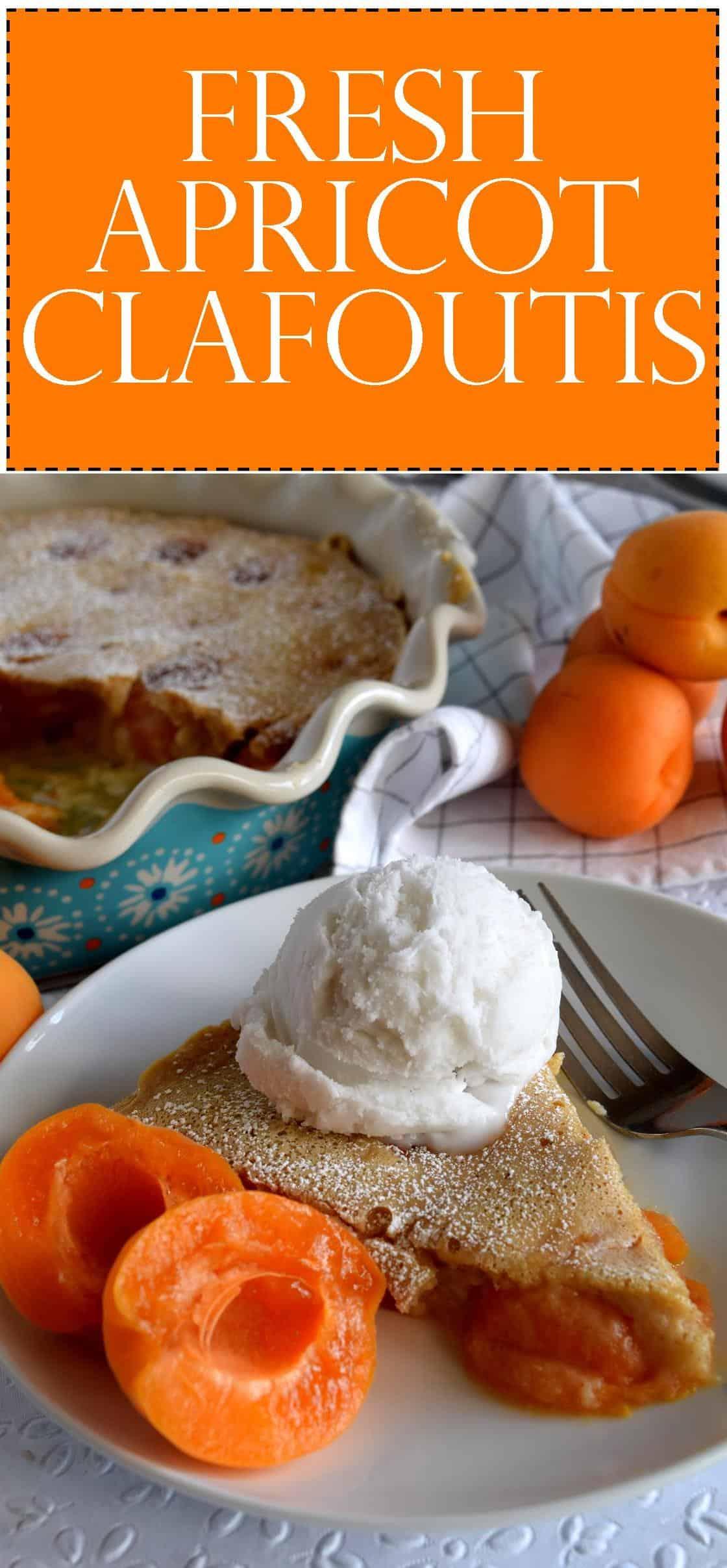 Fresh Apricot Clafoutis - Lord Byron's Kitchen