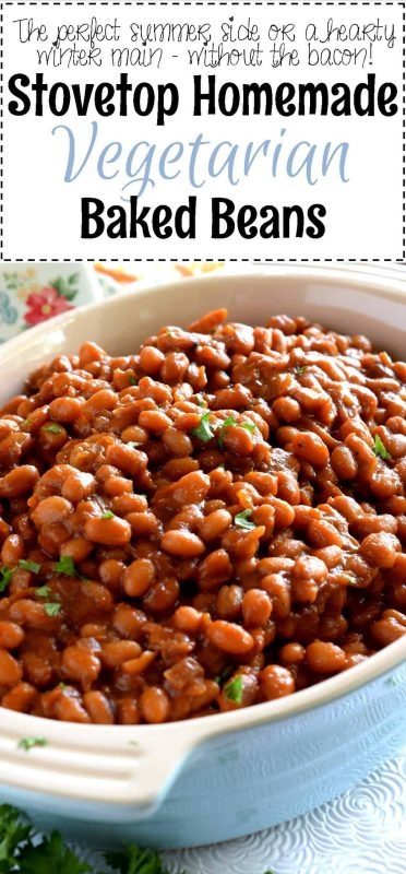 Stovetop Homemade Vegetarian Baked Beans - Lord Byron's ...