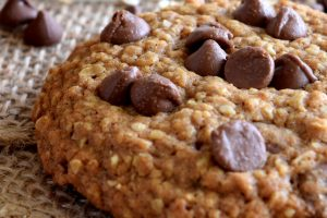 Jumbo Chocolate Chip Oatmeal Cookies
