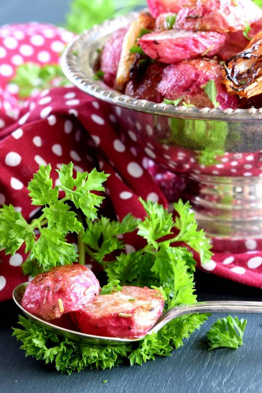 Rosemary Roasted Radishes