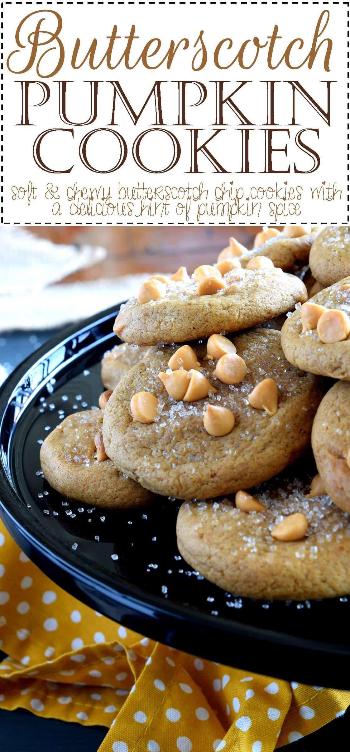 Butterscotch Pumpkin Cookies