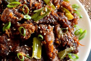 Orange Ginger Garlic Beef
