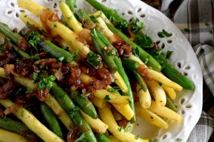 Sauteed Green Beans With Caramelized Shallots