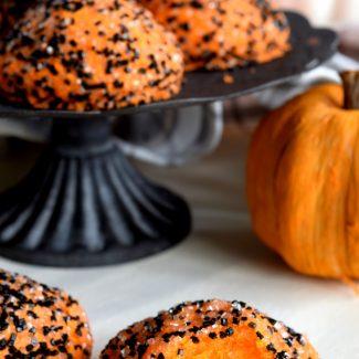 Halloween Meltaway Cookies