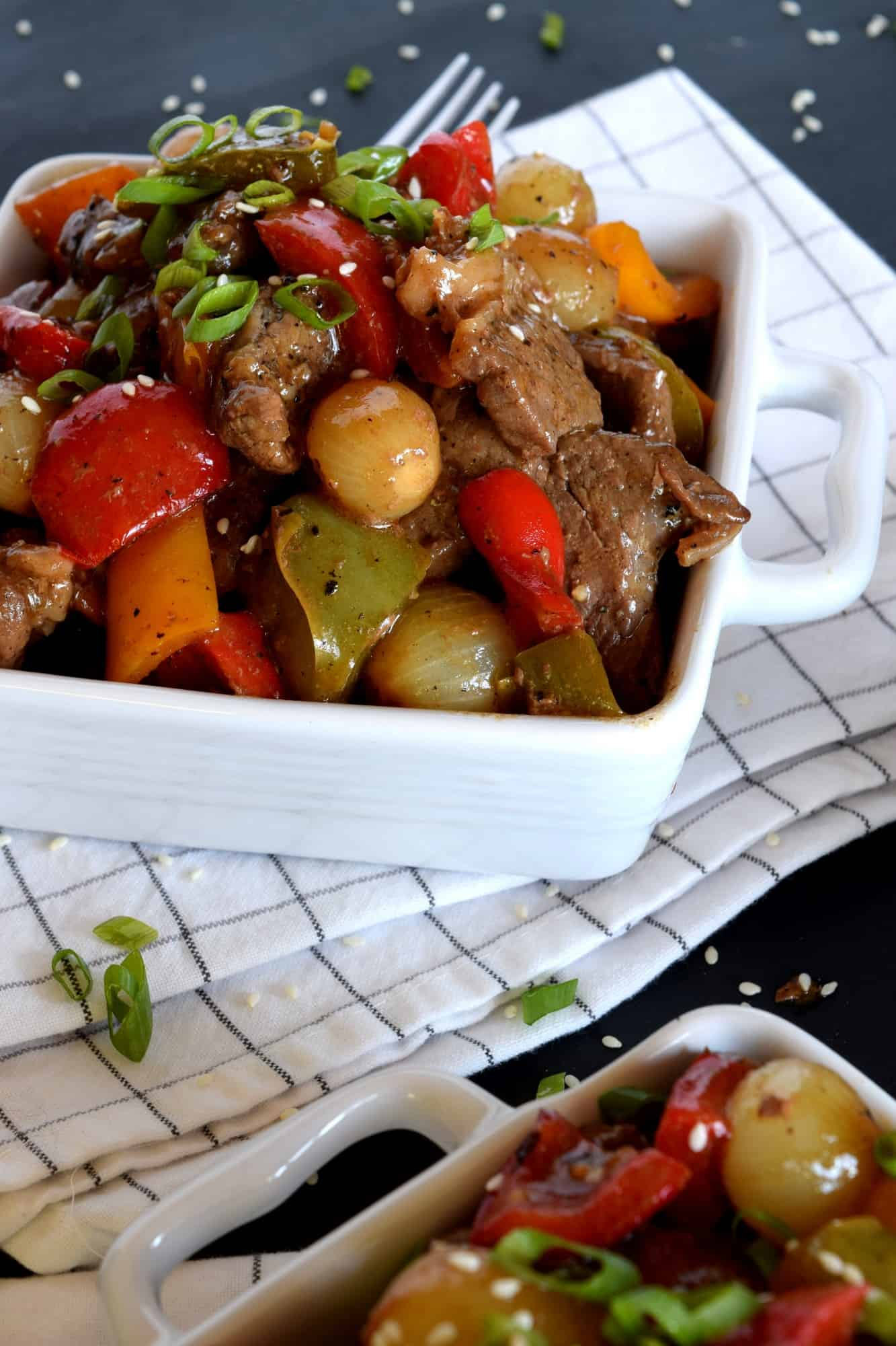 pepper steak with pearl onions lord byrons kitchen