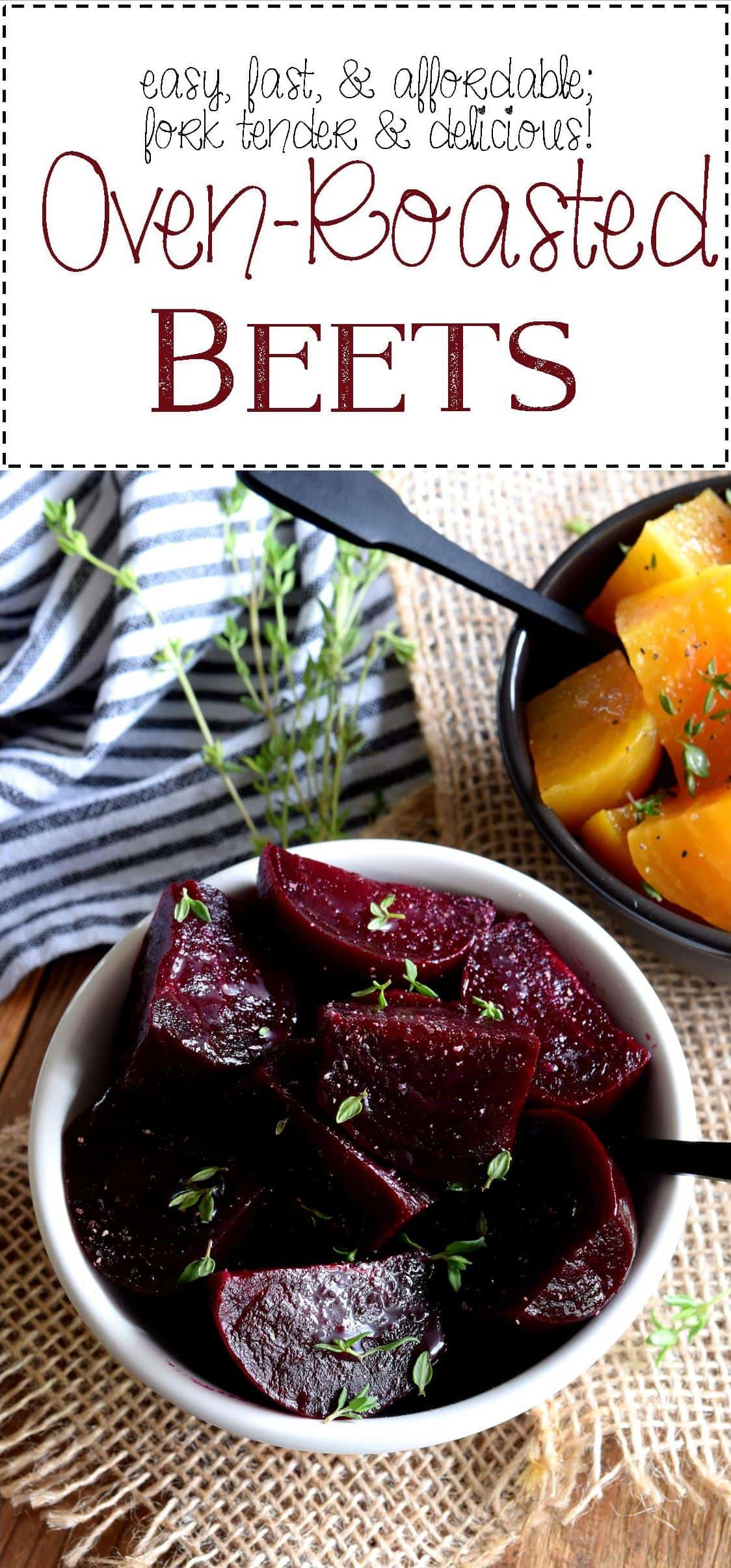 Easy Oven Roasted Beets