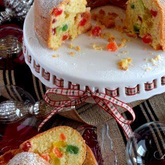 Christmas Gumdrop Bundt Cake
