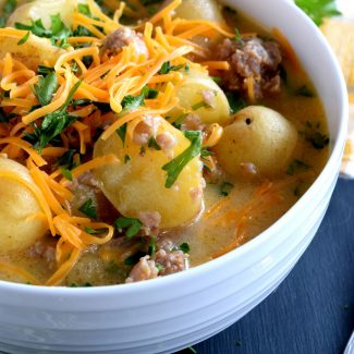 Italian Sausage And Potato Chowder