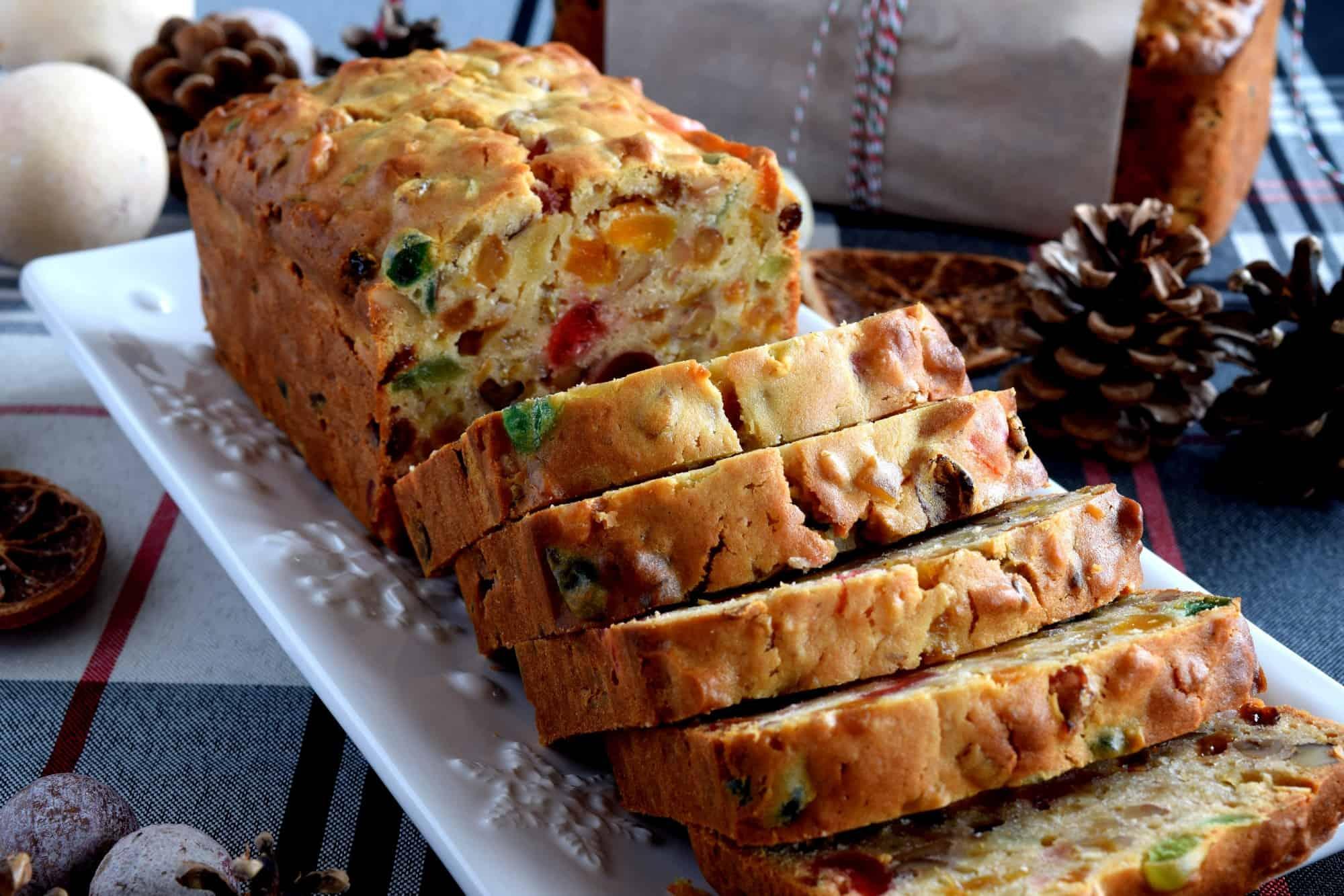 Christmas Apricot and Walnut Fruitcake