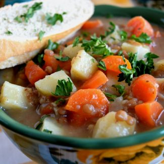 Root Vegetable And Lentil Soup